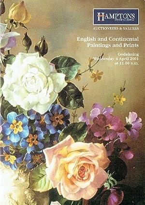 Hamptons April 2001 English & Continental Paintings: Misc.
