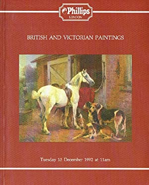 Phillips December 1992 British & Victorian Paintings: Phillips