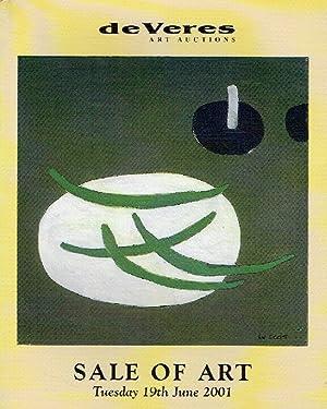 de Veres June 2001 Sale of Art: Misc.