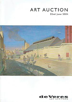 De Veres June 2004 Modern U0026 20th: Misc.