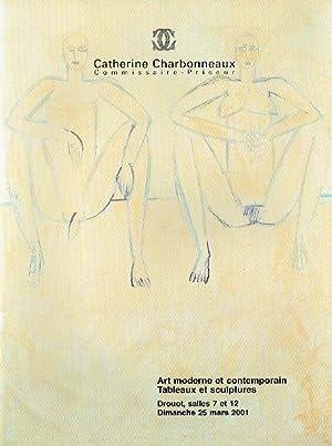 Charbonneaux March 2001 Modern Art & Contemporary: Misc.