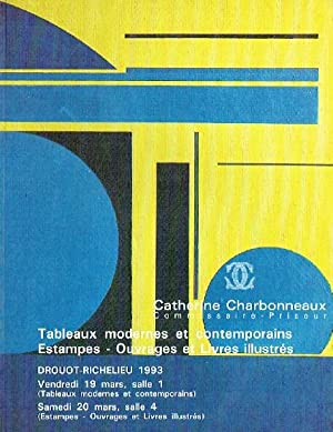 Charbonneaux March 1993 Modern & Contemporary Paintings & Prints and Books
