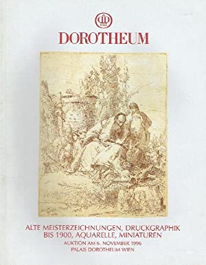 Dorotheum November 1996 Old Master Drawings, Print: Misc.