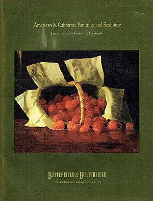 Butterfields June 1995 American & California Paintings: Butterfields
