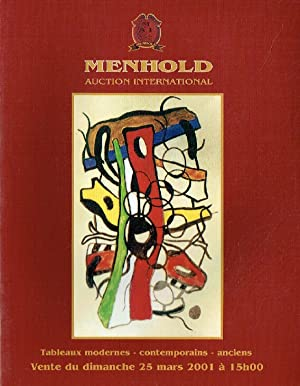Menhold March 2001 Modern Paintings, Contemporary Art & Old Master Paintings
