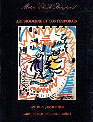 Boisgirard January 2000 Modern & Contemporary Art
