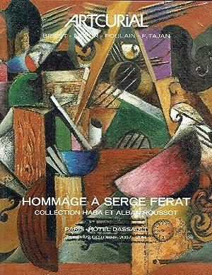 Artcurial October 2007 Homage to Serge Ferat: Misc.