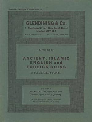 Glendinings February 1986 Ancient, Islamic, English and: Glendinings