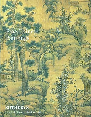 Sothebys March 1997 Fine Chinese Paintings