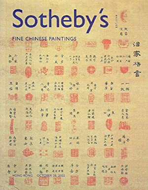Sothebys October 2002 Fine Chinese Paintings