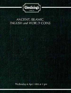 Glendinings April 1992 Ancient, Islamic, English &: Glendinings