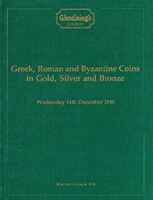 Glendinings December 1988 Greek, Roman & Byzantine: Glendinings