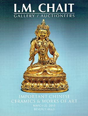 I.M. Chait March 2015 Important Chinese Ceramics: Misc.