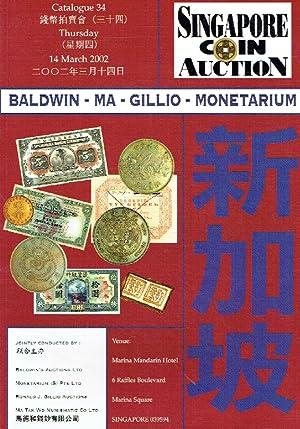 Baldwin-Ma-Gillio-Monetarium March 2002 Coins & Banknotes: Misc.