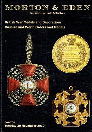Morton & Eden Nov 2010 British War,: Misc.