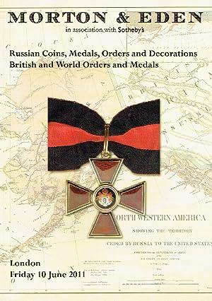 Morton & Eden June 2011 Russian Coins,: Misc.