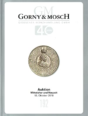 Gorny & Mosch October 2010 Coins from: Misc.