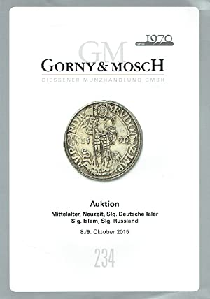 Gorny & Mosch October 2015 Coins from: Misc.