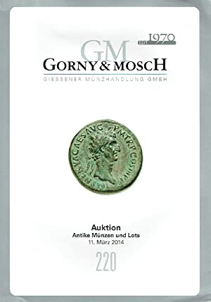 Gorny & Mosch March 2014 Ancient Coins: Misc.