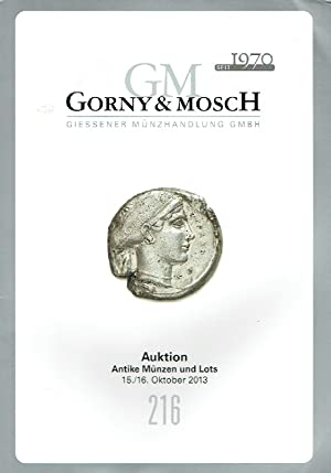 Gorny & Mosch October 2013 Ancient Coins: Misc.