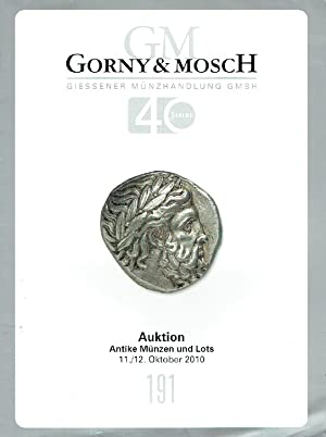 Gorny & Mosch October 2010 Ancient Coins: Misc.