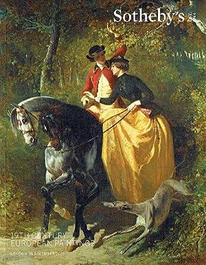 Sothebys December 2015 19th Century European Paintings: Sothebys