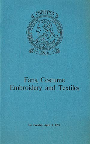 Christies April 1974 Fans, Costume Embroidery and: Christies