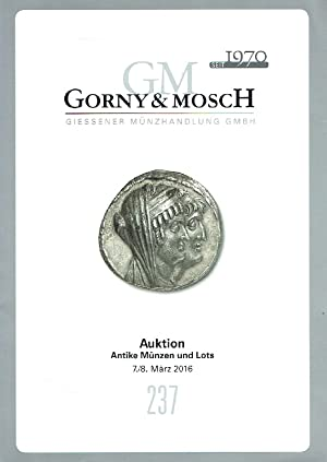 Gorny & Mosch March 2016 Ancient Coins: Misc.