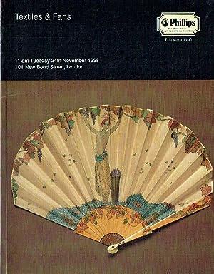 Phillips November 1998 Textiles & Fans: Phillips
