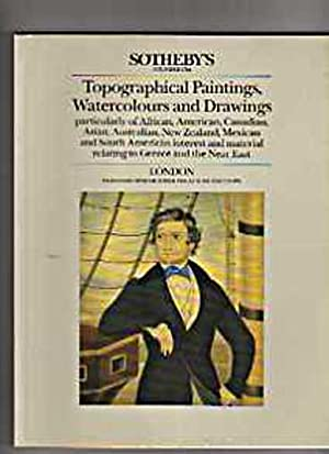 Sothebys 1986 Topographical Paintings, Watercolours & Drawings: Sothebys