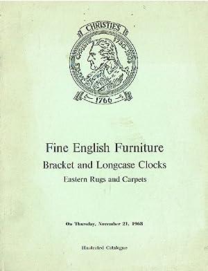Christies November 1968 Fine English Furniture Bracket: Christies