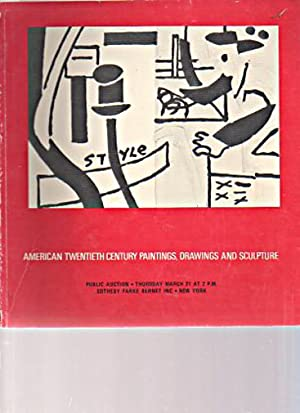 Sothebys 1974 American 20th C Paintings, Drawings: Sothebys