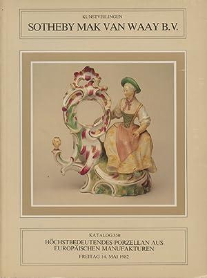 Sothebys May 1982 Important German & Austrian: Sothebys