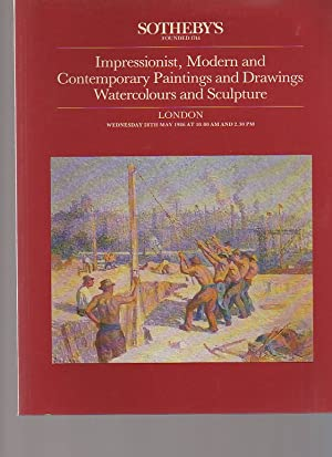 Sothebys May 1986 Impressionist Modern & Contemporary: Sothebys