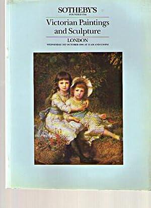 Sothebys 1986 Victorian Paintings & Sculpture: Sothebys