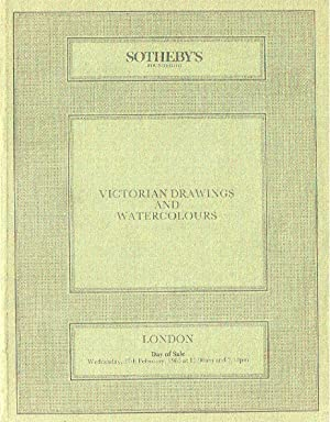Sothebys February 1985 Victorian Drawings & Watercolours: Sothebys