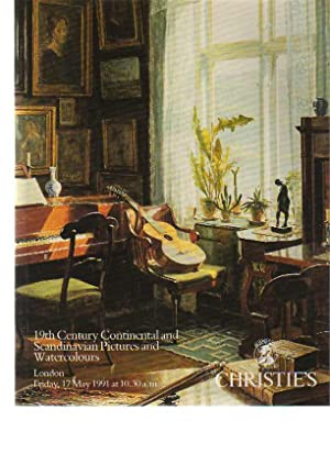 Christies 1991 19th C Continental & Scandinavian: Christies