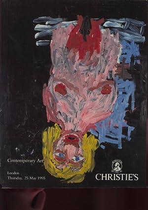 Christies May 1995 Contemporary Art: Christies