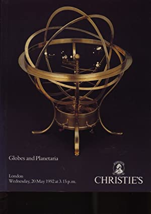Christies 1992 Globes and Planetaria