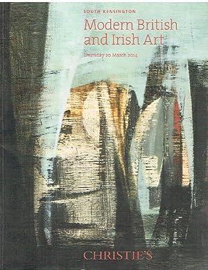 Christies March 2014 Modern British and Irish: Christies