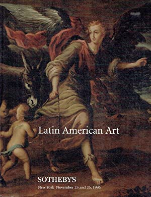 Sothebys November 1996 Latin American Art: Sothebys