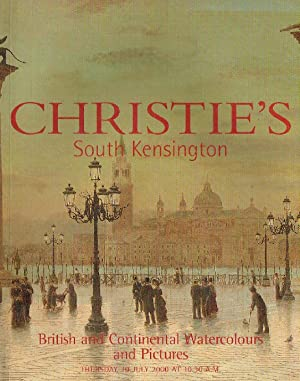 Christies July 2000 British & Continental Watercolours: Christies