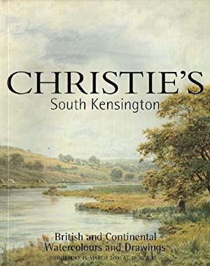 Christies March 2001 British & Continental Watercolours: Christies