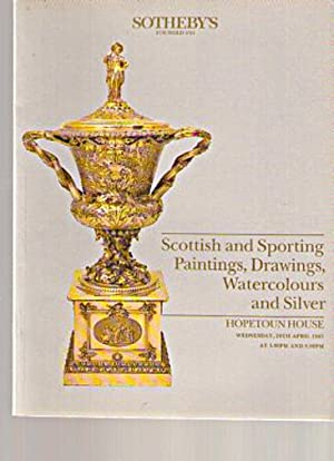 Sothebys 1987 Scottish & Sporting Paintings, Silver