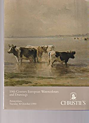 Christies 1990 19th Century European Watercolours, Drawings: Christies