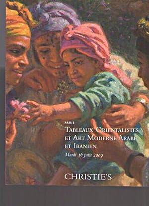 Christies 2009 Orientalist Art & Modern Arab,: Christies