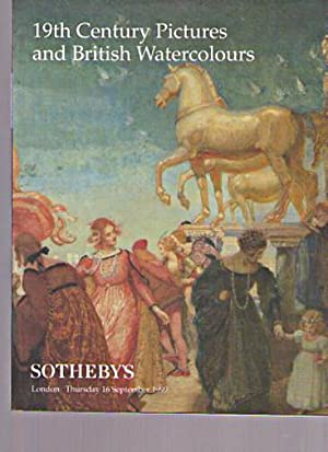Sothebys 1999 19th Century Pictures & British: Sothebys