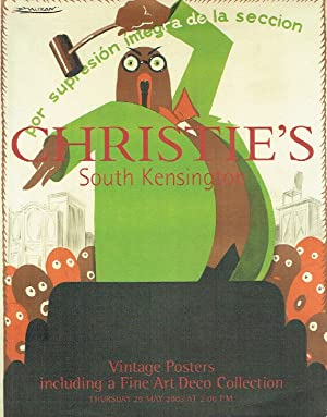 Christies May 2003 Vintage Posters including a Fine Art Deco Collection