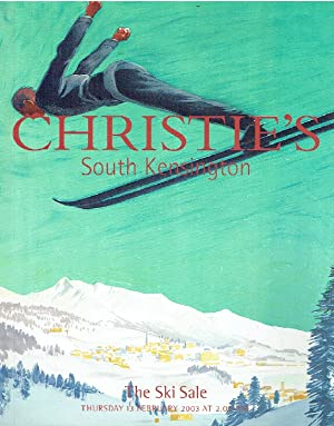 Christies February 2003 The Ski Sale