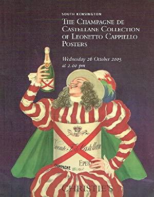 Christies October 2005 The Champagne De Castellana Collection of Posters